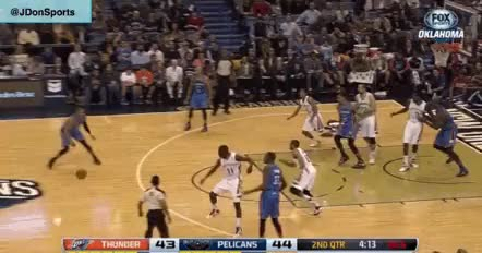 Watch and share Russell Westbrook Assist GIFs on Gfycat