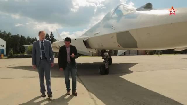 Watch Уникальная съемка полета новейших Су-57 — кадры с рампы Ан-12 GIF on Gfycat. Discover more tvzvezda, zvezda GIFs on Gfycat