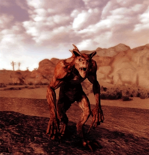 deathclaw, fallout, fallout nv, fnv, gaming, gif,  GIFs