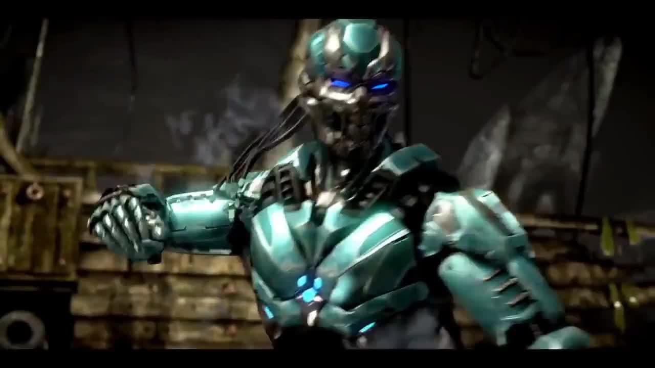 MortalKombat, PS4Share, mkxl, mkxtriborg, Mortal Kombat XL - Triborg Victory Pose GIFs
