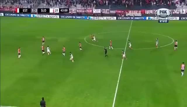 Watch and share Golazo De Belluschi HD - San Lorenzo Vs. Estudiantes - Superliga 2017/18 GIFs on Gfycat