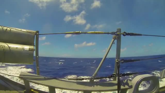 Watch and share Torpedo Launch From USS Paul Hamilton GIFs by kingtorm on Gfycat