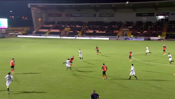 Watch Kenny McLean lobs the defender and finishes well for St Mirren v Dundee United (reddit) GIF on Gfycat. Discover more scottishfootball, soccer GIFs on Gfycat
