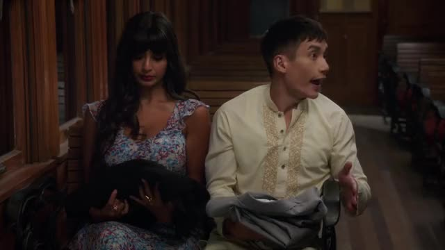 Watch The Good Place S02E10 - Rhonda, Diana, Jake, and Trent GIF on Gfycat. Discover more kristen bell, manny jacinto GIFs on Gfycat