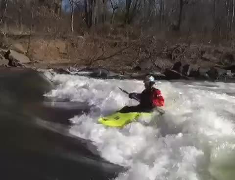 canoe, freestyle kayak loop, kayak, loop GIFs