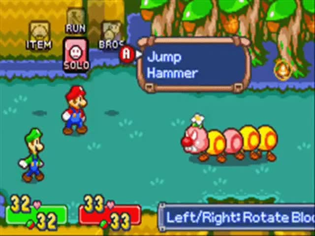 Watch and share Mario & Luigi: Superstar Saga - Bosses Wiggler GIFs on Gfycat