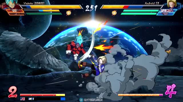 Watch and share Dbfz High Lvl Play GIFs and Fame96 Compilation GIFs on Gfycat