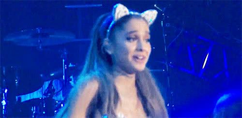 ariana grande, awkward, confused, idk, oops, shrug, uh oh, what, whoops, yikes, Ariana Grande Confused GIFs