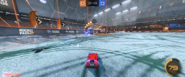 Watch Snowday ceiling shot GIF on Gfycat. Discover more RocketLeague GIFs on Gfycat
