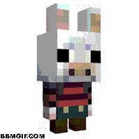 Watch and share Minecraft Bunny GIFs on Gfycat