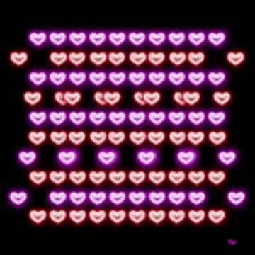 Watch and share Glowing Heart GIFs on Gfycat