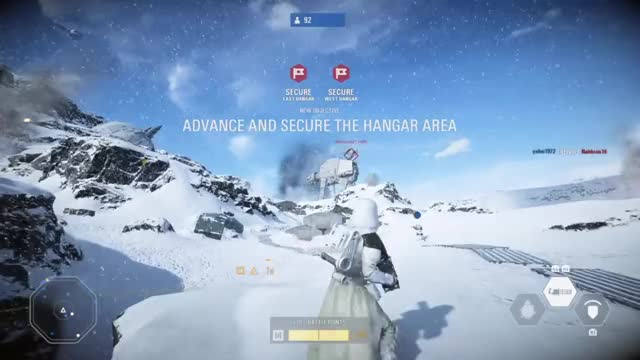 Watch STAR WARS™ Battlefront™ II_20171114150502 GIF on Gfycat. Discover more PS4share, PlayStation 4, STAR WARS™ Battlefront™ II, Sony Interactive Entertainment, pannowacki GIFs on Gfycat