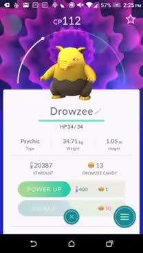 Watch and share Drowzee On Pokemon Go GIFs on Gfycat