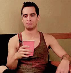 Watch BRENDON URIE GIF on Gfycat. Discover more related GIFs on Gfycat