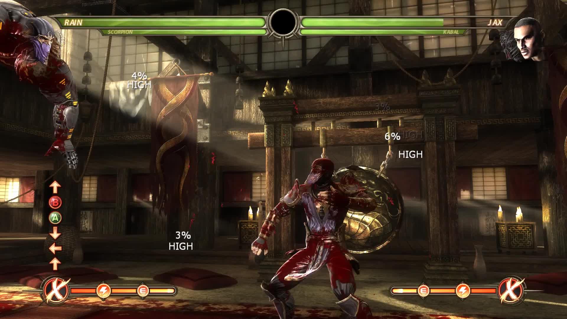 MK9, MortalKombat, first rain combo GIFs