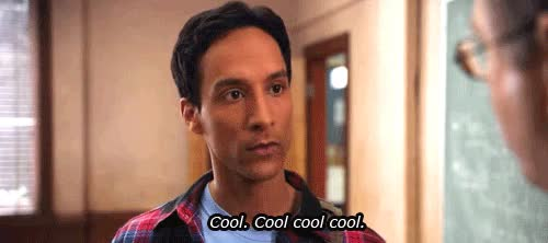 Watch this cool GIF by Reaction GIFs (@sypher0115) on Gfycat. Discover more Danny Pudi, awesome, cool, smooth GIFs on Gfycat