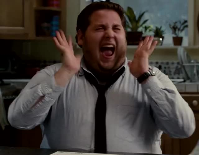 Watch and share Jonah Hill GIFs and Screaming GIFs by Hanna on Gfycat