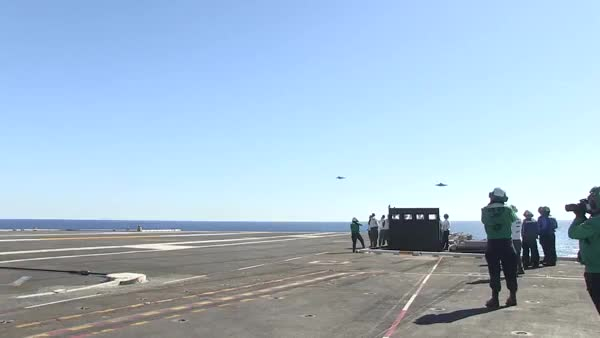 Watch and share F-35C First Carrier Landing GIFs on Gfycat