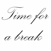 Watch and share Time For A Break GIFs on Gfycat