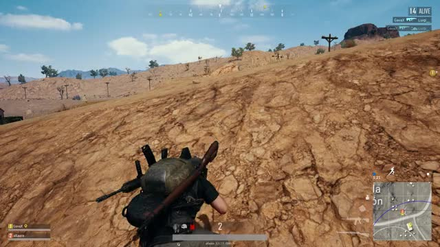 Watch and share Vlc-record-2018-01-01-16h59m48s-PLAYERUNKNOWN GIFs on Gfycat