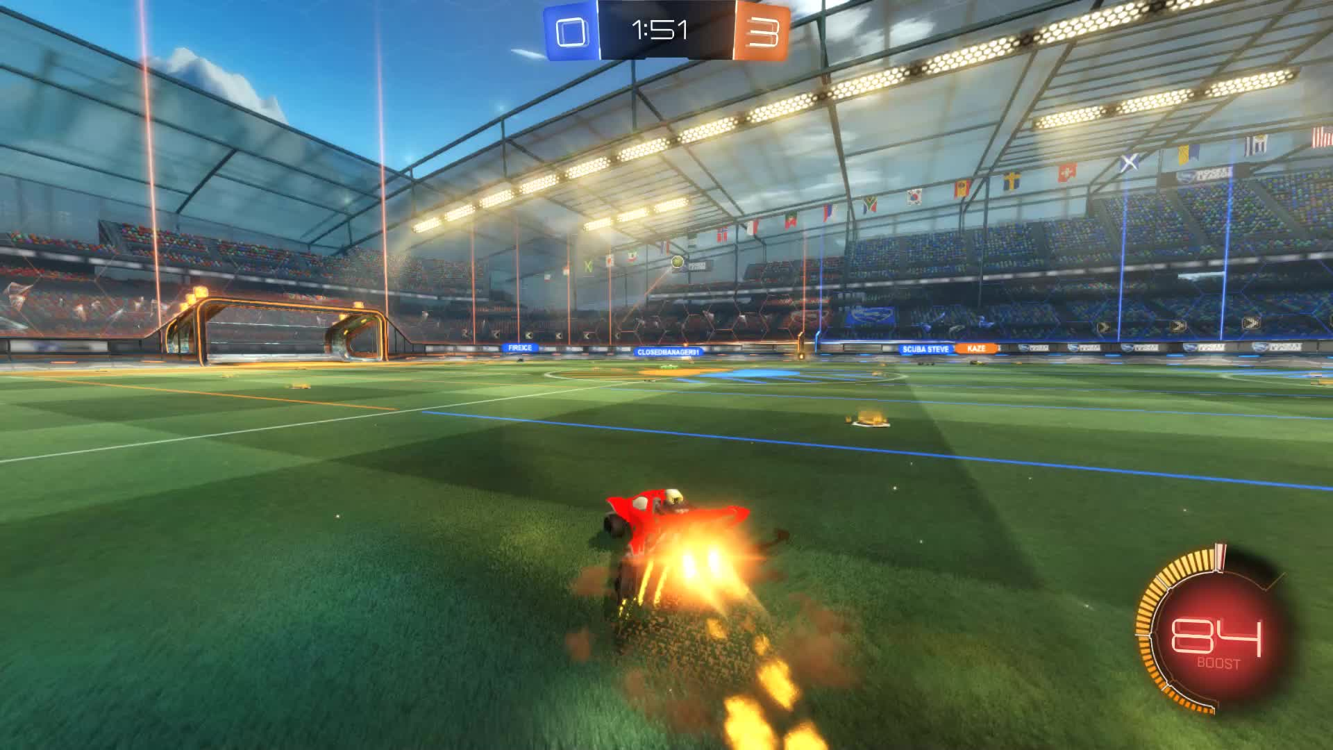 Gif Your Game, GifYourGame, Goal, Rocket League, RocketLeague, Silasco | Twitch, Goal 4: Scuba Steve GIFs
