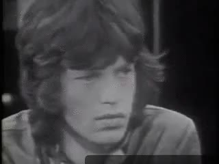 Watch mickjaggersgroupie GIF on Gfycat. Discover more 60s, black and white, classic rock, classic rock fandom, how cute he is, mick jagger, my gifs, omg, the rolling stones GIFs on Gfycat