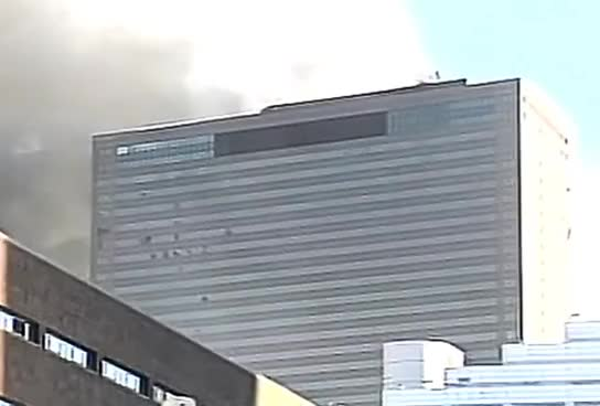 Watch and share 9/11 WTC 7 Demolition - Westside Highway CBS Camera Angle GIFs on Gfycat