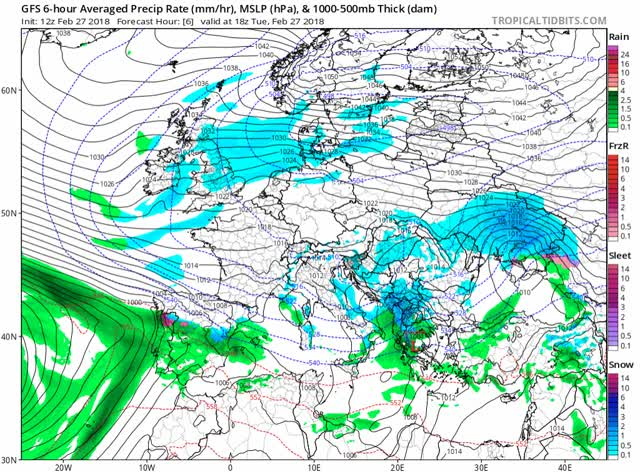 Watch and share Gfs Mslp Pcpn Frzn Eu Fh6-108 (Storm Emma) GIFs by The Watchers on Gfycat