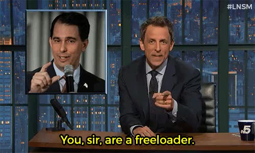 Watch this trending GIF on Gfycat. Discover more GOP, LGBT, LGBTQ, LNSM, Late Night, Late Night with Seth Meyers, Politics, Republicans, Scott Walker, Seth Meyers, comedy, funny, gay marriage, gay wedding GIFs on Gfycat
