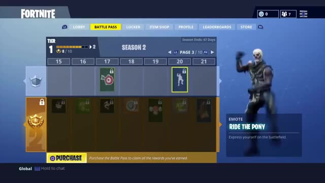 Ride The Pony - Fortnite Battle Royale (Dance Emote) dancing new update, new item, emote, dance, ride the pony, fortnite, battle royale, funny, christmas, festive, winter update, epic GIF