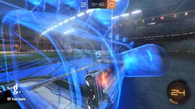 Watch Goal 3: 2Spooky GIF by Gif Your Game (@gifyourgame) on Gfycat. Discover more Dabble, Gif Your Game, GifYourGame, Rocket League, RocketLeague GIFs on Gfycat