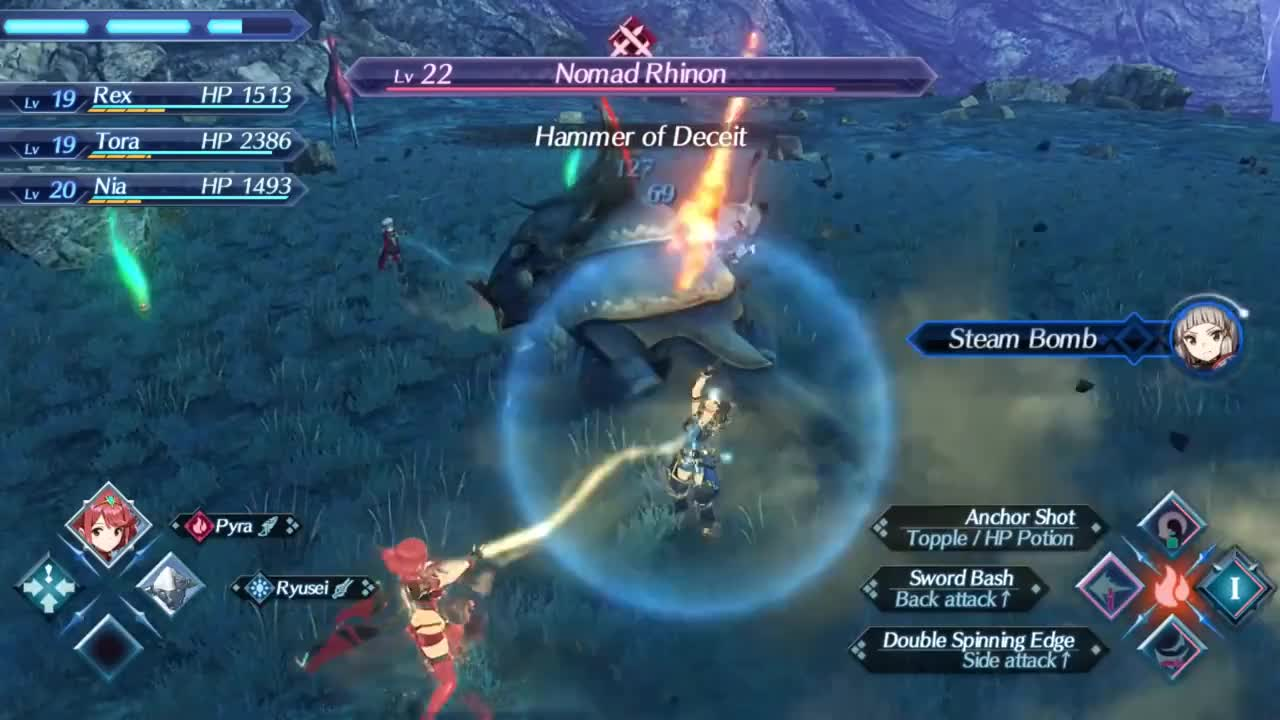 johneawesome, Xenoblade Chronicles 2 - Part 10 - Wulfric GIFs