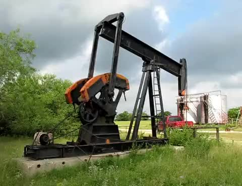 Watch and share Oil Well Pumping Unit In Bryan, Texas. GIFs on Gfycat