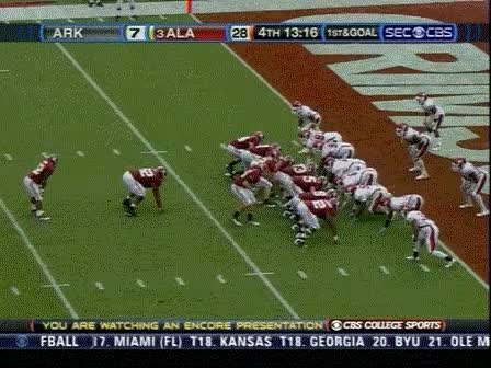 Watch alabama football GIF on Gfycat. Discover more related GIFs on Gfycat