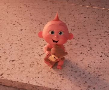 Watch and share The Incredibles 2 GIFs and Jack Jack GIFs by Reactions on Gfycat