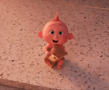 funny, haha, jack jack, laughing, lol, the incredibles 2, Jack-Jack - The Incredibles 2 GIFs