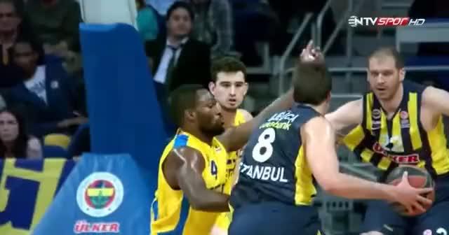 Nemanja Bjelica - Fenerbahçe Ülker - Maccabi Electra