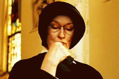Watch Catholic Meryl Streep GIF on Gfycat. Discover more related GIFs on Gfycat