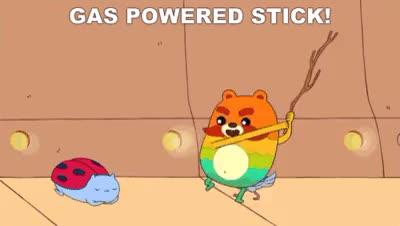 Watch Gas Powered Stick! (reddit) GIF on Gfycat. Discover more tifu GIFs on Gfycat