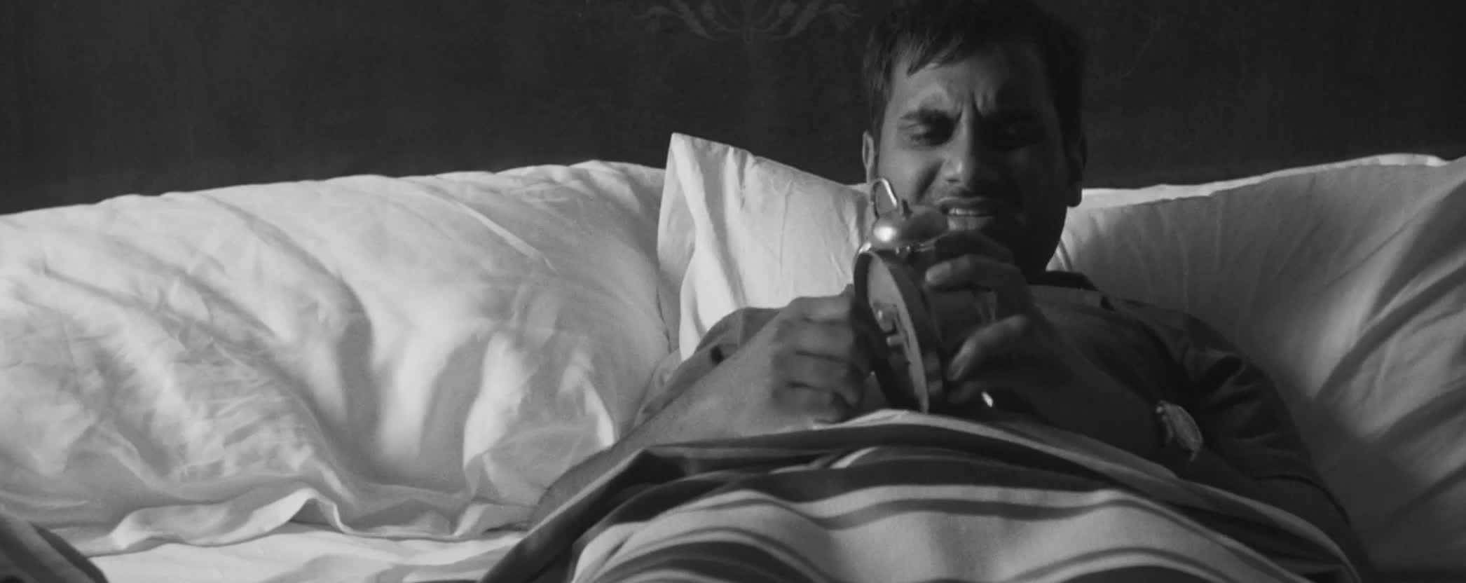 alarm clock, aziz ansari, master of none, wake up, Master of None GIFs