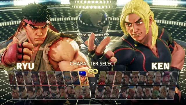 Watch and share SFV Choosing Character GIFs by pcgemma on Gfycat
