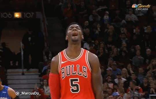 Watch Bobby Portis reaction GIF by MarcusD (@-marcusd-) on Gfycat. Discover more related GIFs on Gfycat