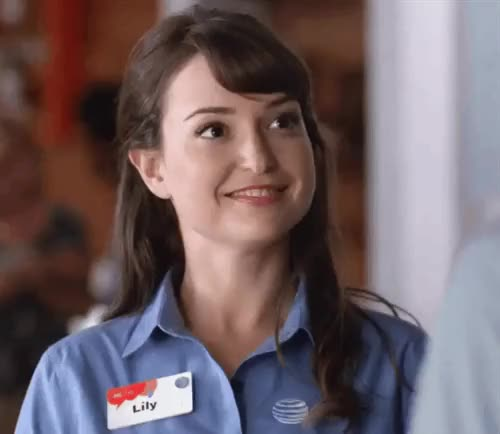 Watch and share Milana Vayntrub GIFs on Gfycat