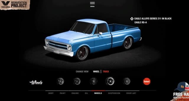 Watch and share VALVOLINE Reinvention Chevy Truck Wheels GIFs on Gfycat