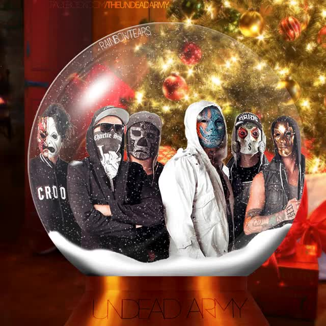 Watch and share Hollywood Undead- Snow Globe Gif By SaraPukesTheRainbow GIFs on Gfycat