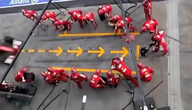 Watch Formula 1 Pit Stops 1950 & Today GIF on Gfycat. Discover more related GIFs on Gfycat