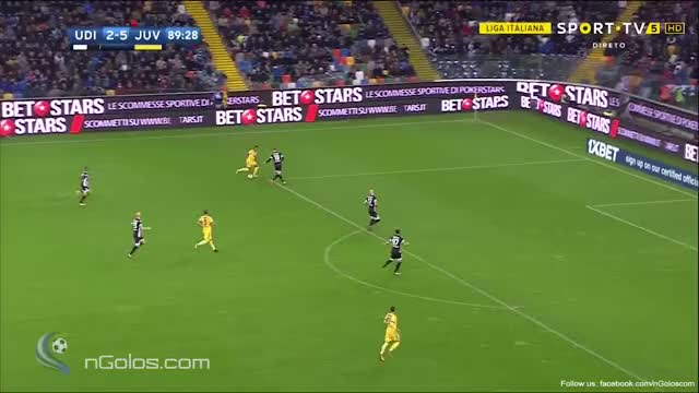 Watch and share (www.nGolos.com) Udinese 2-[6] Juventus - Pjanic 90' GIFs by minieri on Gfycat