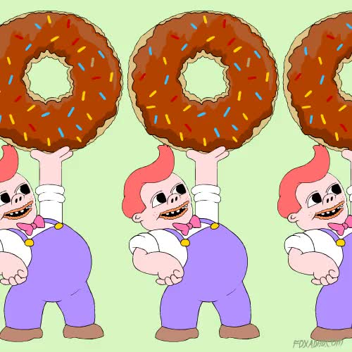 Watch and share Doughnut GIFs and Donut GIFs on Gfycat