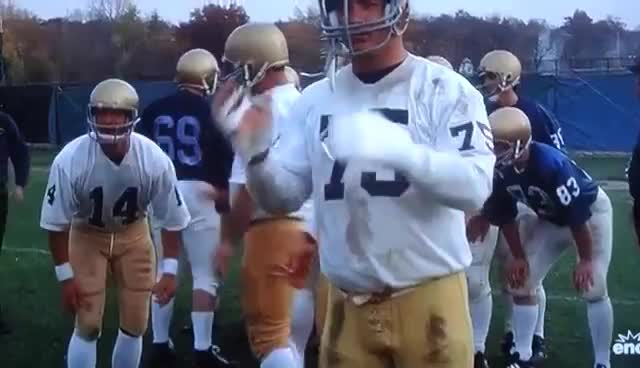 applause, clap, clapping, football, rudy, slow, slow clap, rudy clap GIFs
