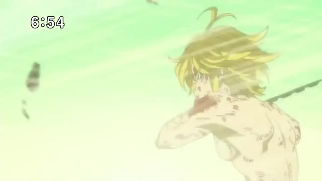 Watch Meliodas vs The ten commandments GIF on Gfycat. Discover more related GIFs on Gfycat